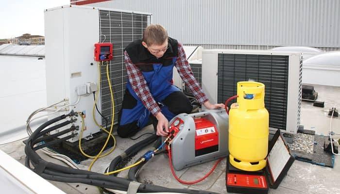 Cómo Funciona Una Recuperadora de Gas Refrigerante