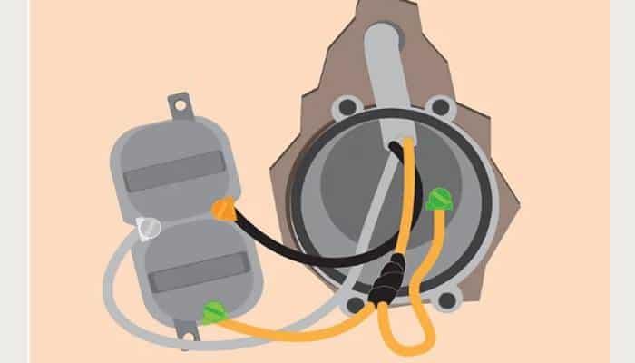 Conecta el cable a tierra