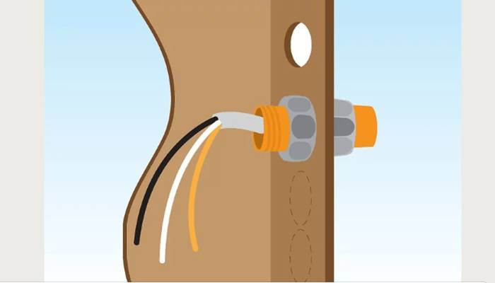 Corta el cable a la longitud