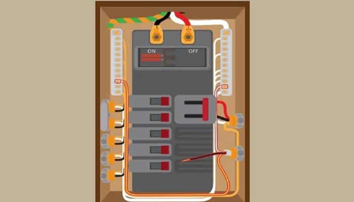Conecta los cables neutro y de tierra.