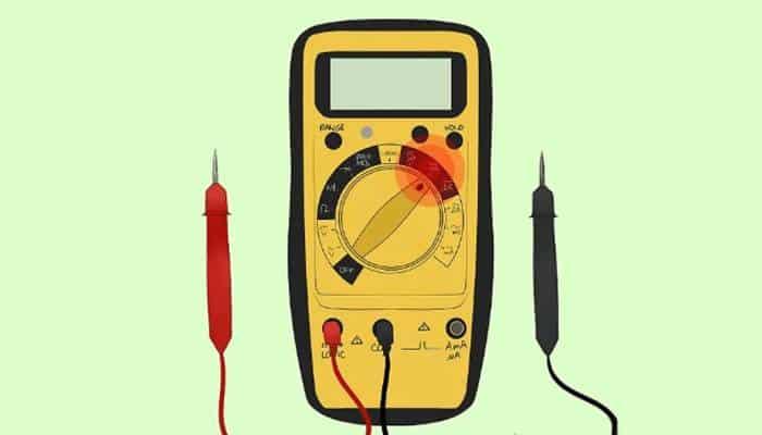 Gira el dial a una configuración de amplificador