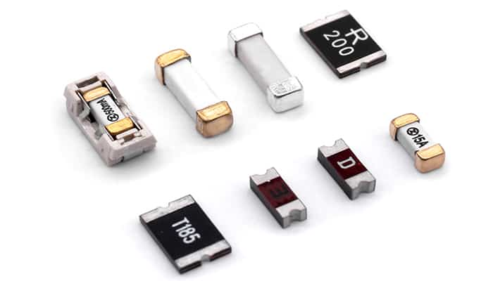 Tipos de Fusibles Electrónicos