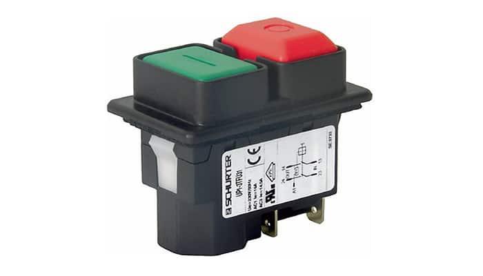 Botones pulsadores de bajo voltaje
