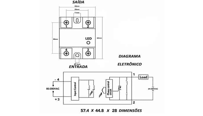 Mecanismo del relé de estado sólido