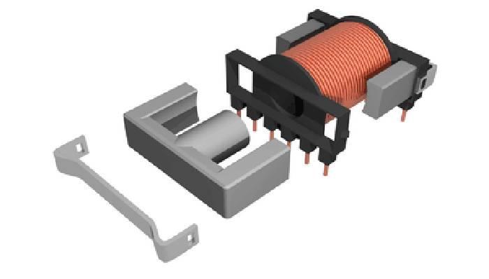 Transformador de núcleo de ferrita