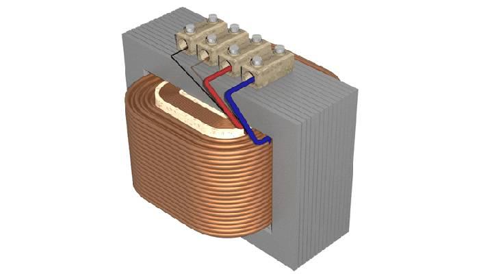Transformador de núcleo de hierro