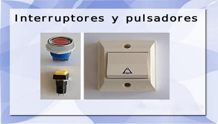 Diferencias Entre Un Pulsador Y Un Interruptor