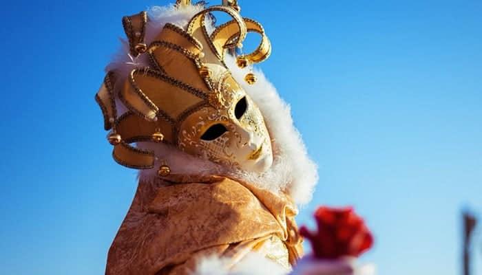 Mascara de carnaval romana