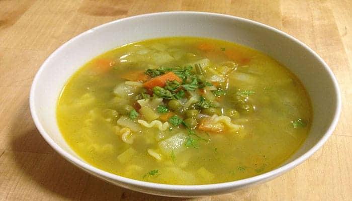 Sopa de minestron