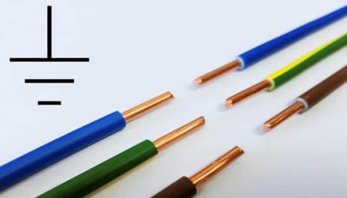 Cable de conexión a tierra residencial