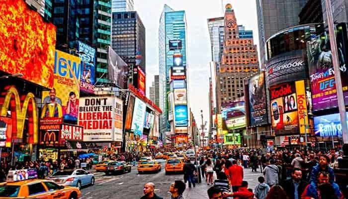 Cosas tipicas de Nueva York