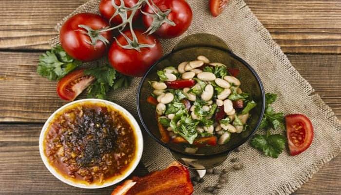 Ensalada mexicana de verduras