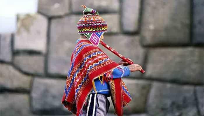 El chullo peruano