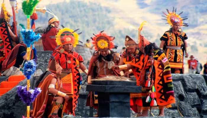festival del sol en Perú
