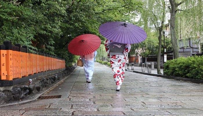 sombrillas japonesas