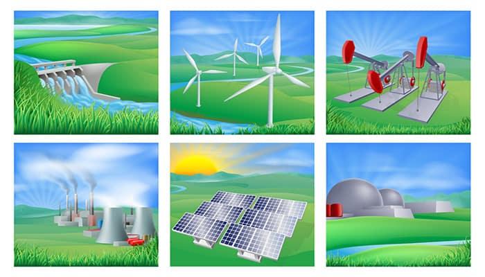 Tipos de electricidad industrial