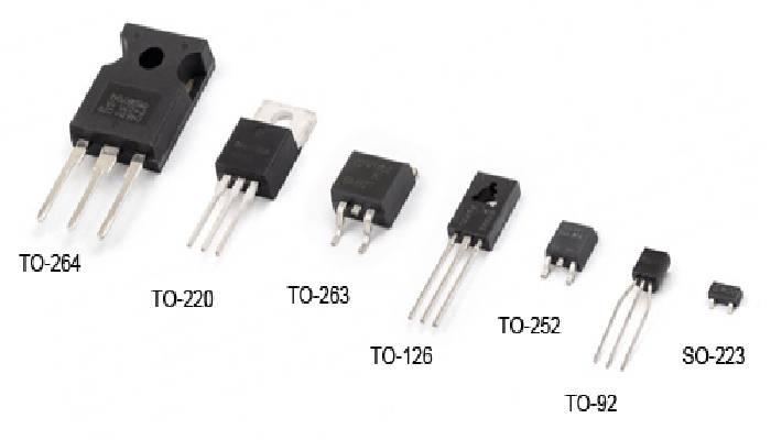 Tipos de transistores de audio