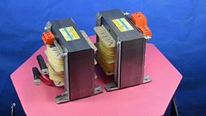 2.Transformador acorazado con doble blindaje electrostático