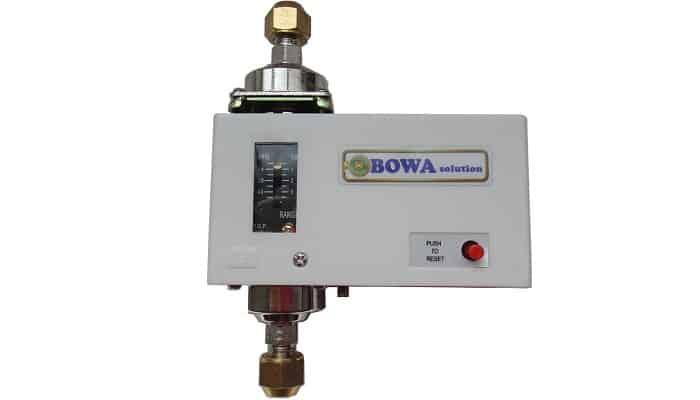 Cómo funciona un interruptor de presión diferencial