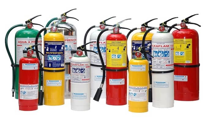 Cómo Funciona un Extintor de Incendios