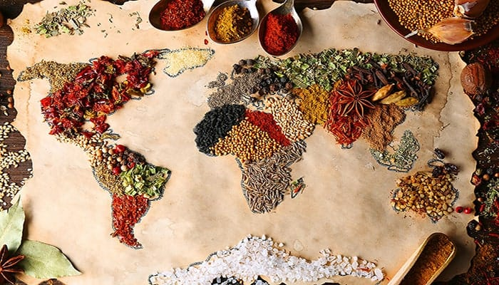 Comidas típicas del mundo