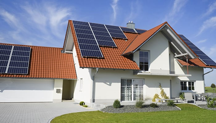 Paneles solares residenciales