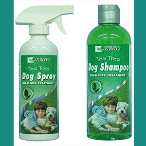 Shampoo para perros, antiséptico y antifúngico