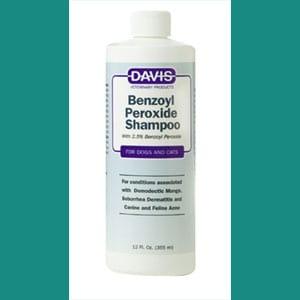 Shampoo para perros con peróxido de benzoilo davis