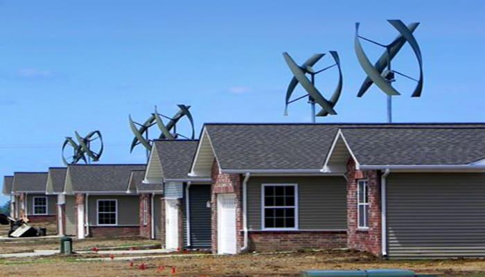 Turbinas de viento residenciales