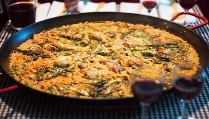 Comidas típicas valencianas