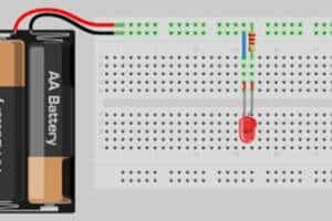 Cómo Encender Un Led En Un Protoboard