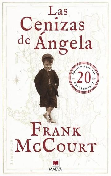 Las cenizas de Angela de Frank McCourt
