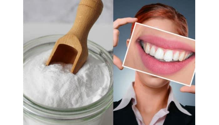 Bicarbonato de sodio para dientes más blancos