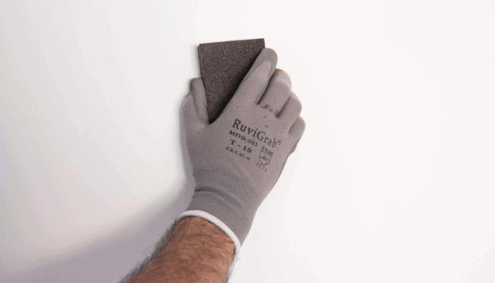 Lijar las paredes antes de pintar