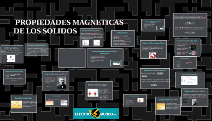 Propiedades Magnéticas De Los Sólidos, Ferromagnéticos, Antiferromagnéticos etc.