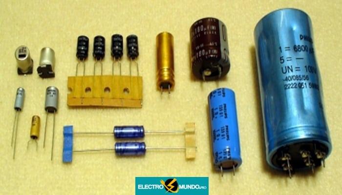 Condensador electrolítico: Condensador electrolítico de aluminio