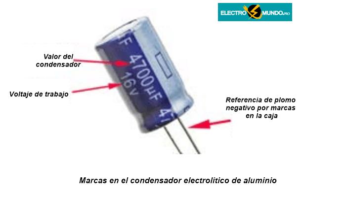 Marcas del condensador electrolítico
