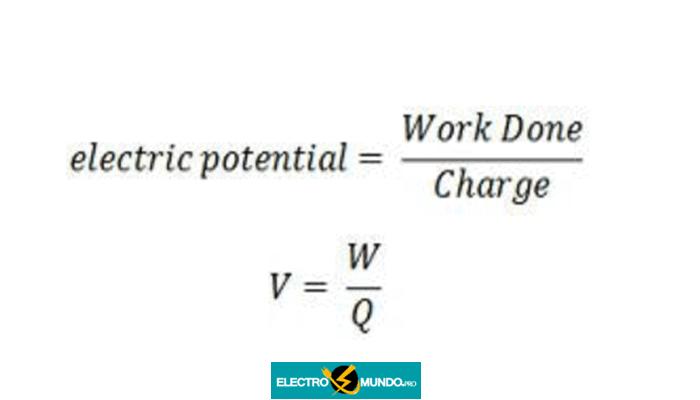 que es Potencial Eléctrico