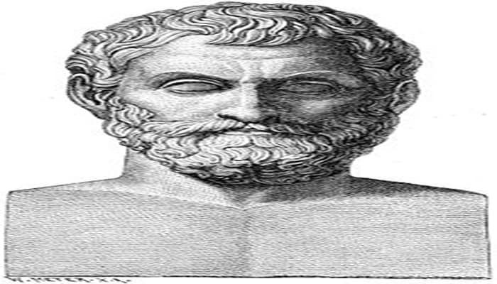 datos curiosos de Tales de Mileto