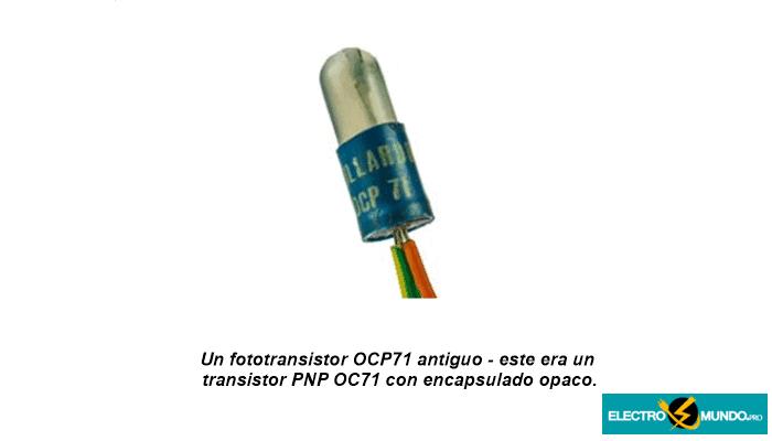 Funcionamiento del fototransistor