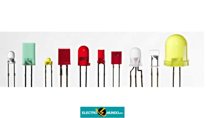 Diodo Emisor De Luz, LED: Tipos de LED, Símbolo, etc.