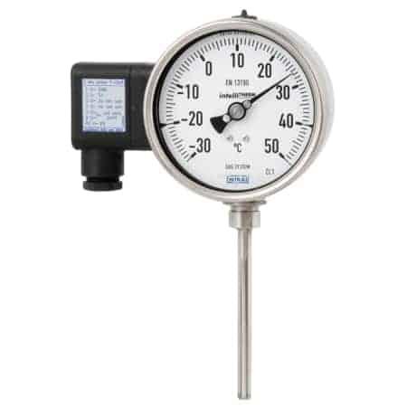 termómetro de gas
