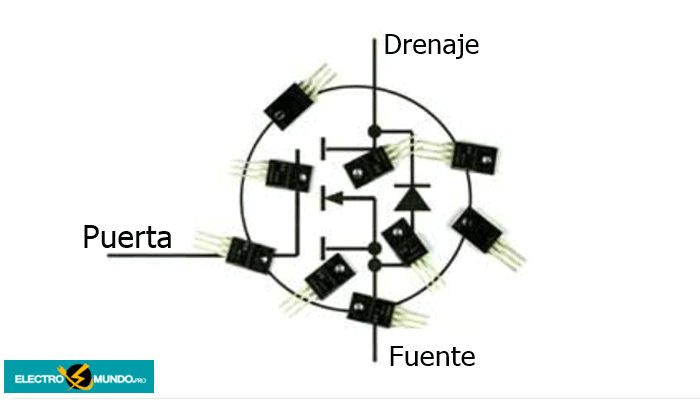 Que Es MOSFET De Potencia - Tipos, Capacitancia Y Aplicación.