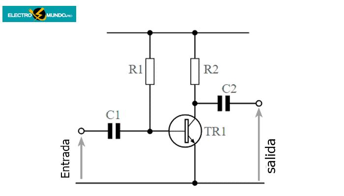 Diseño de un amplificador de emisor común acoplado a CA simple