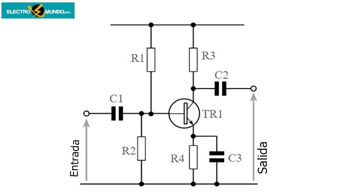 Diseño completo del amplificador de emisor común acoplado a CA