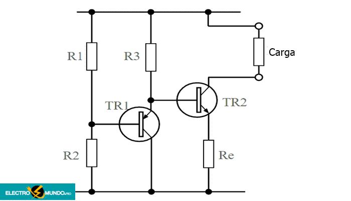 Circuitos de fuentes de corriente activas con buena estabilidad de temperatura
