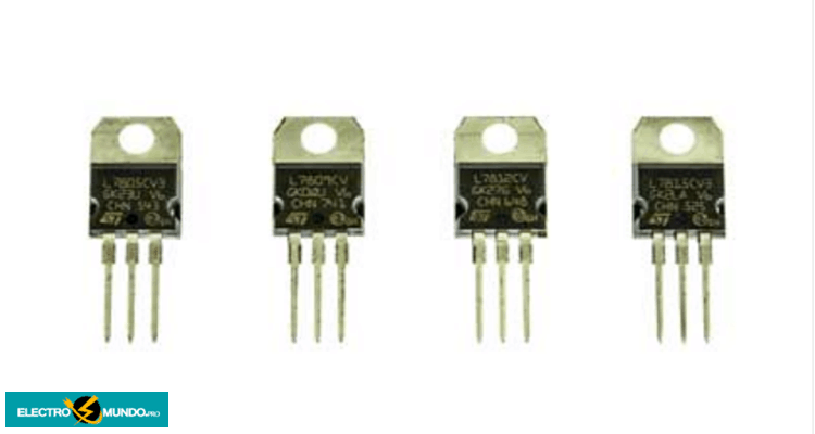 Especificaciones de los reguladores de tensión de la serie 7800