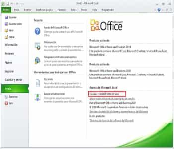 ¿Cómo Saber Si Office Está Activado?