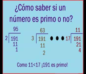 Cómo Saber Si Un Número Es Primo